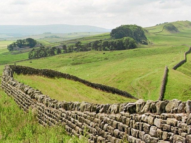 A part of Hadrians wall.