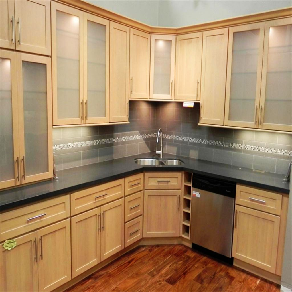Natural maple kitchen the most incredible light maple kitchen