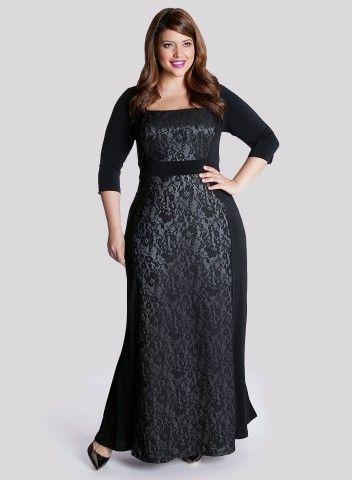 074d18dd1754 Långa klänningar stora storlekar