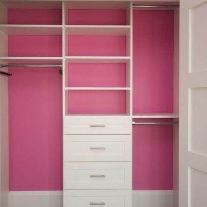 Randoms   Modern   Closet   Toronto   CLOSET ENVY INC.   Paint The Back Of  The Closet In Contrasting Colour