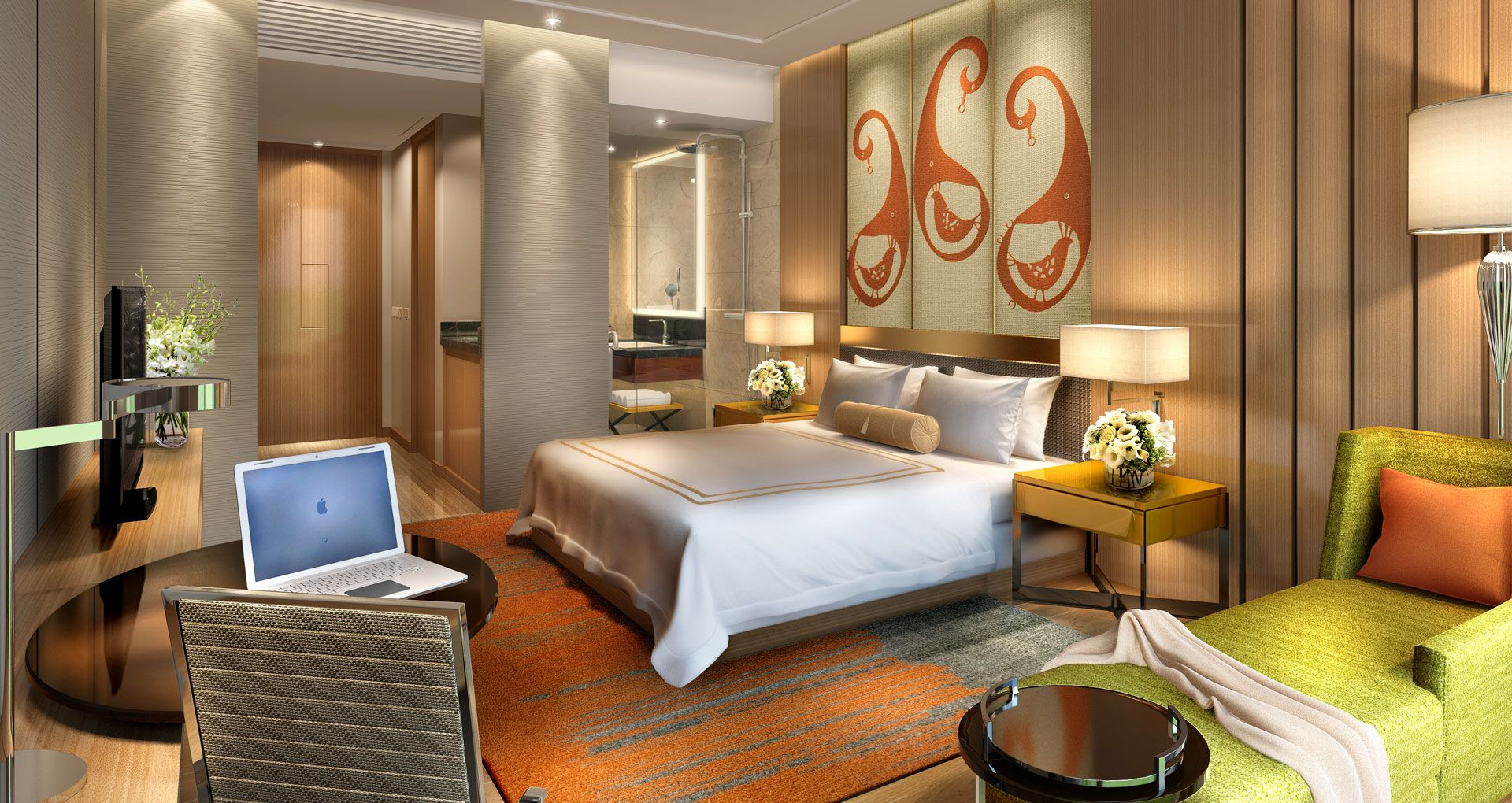 Hotel Courtyard Marriott Bangalore India Designed By Studio Hba A 200 Room Urban Business