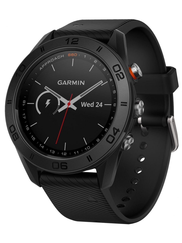 Garmin 0100170200 Approach S60 GPS Golfuhr Schwarz