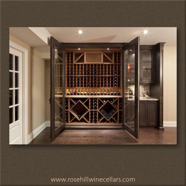 Wineroom With Regular Wine Racks Presentation Racks And Diamond