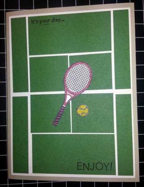 Tennis birthday tennis pinterest rackets tennis and stamps tennis birthday m4hsunfo