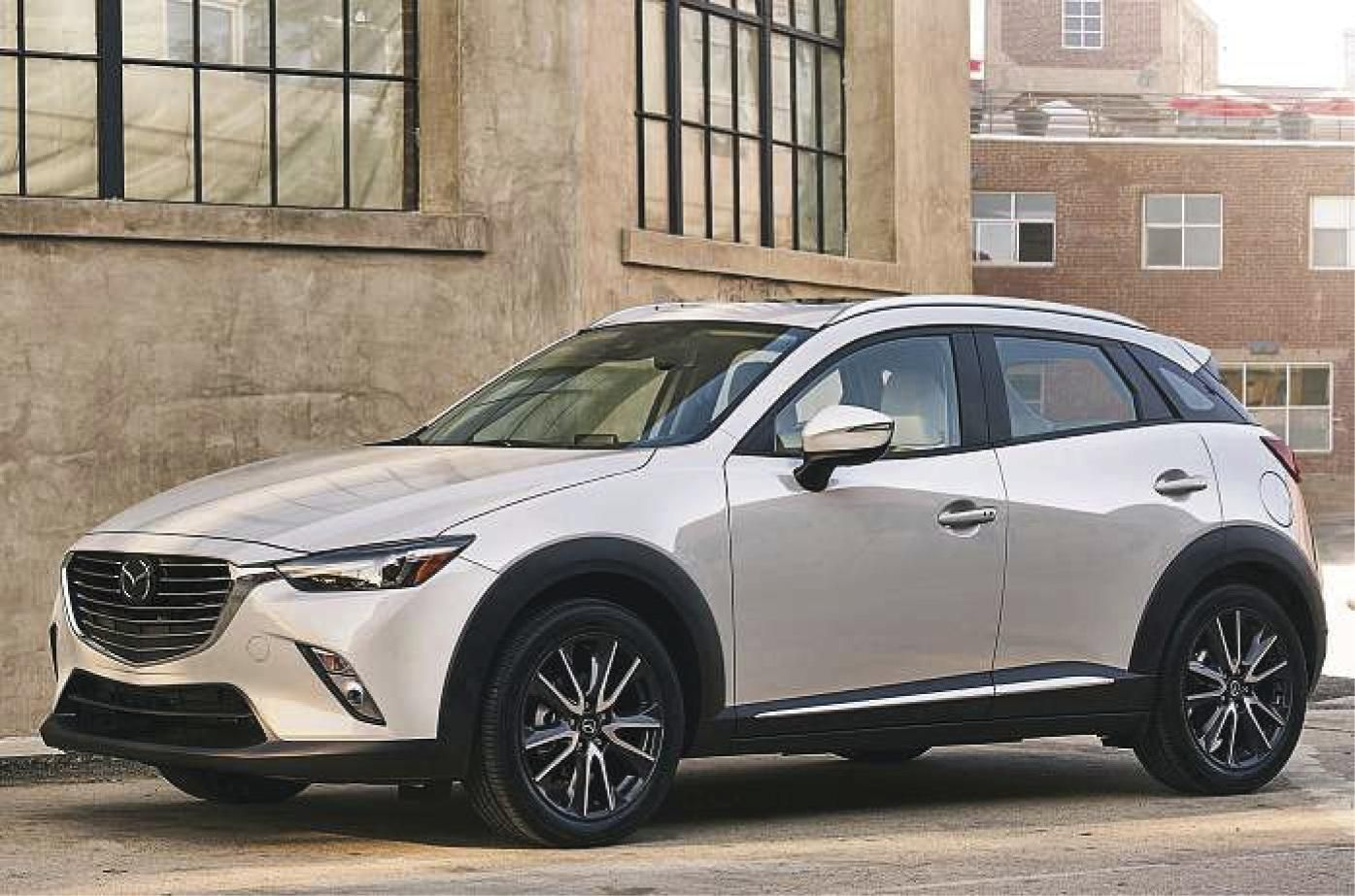 Mazda CX3 Small crossover gets interior, engine upgrades