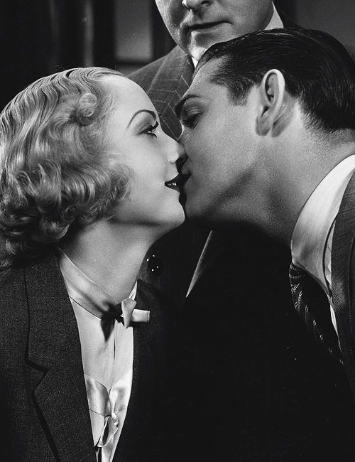 Clark Gable and Carole Lombard in No Man Of Her Own (1932)