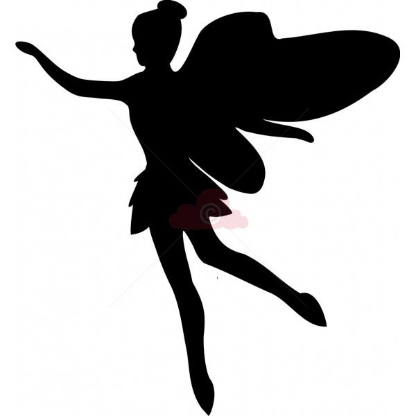 Free svg files for silhouette fairy svg file card for Fairy cut out template