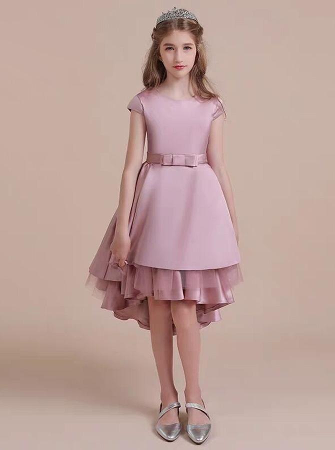 Sequin Hearts Cap-Sleeve Metallic Lace Gown   Dillards.com