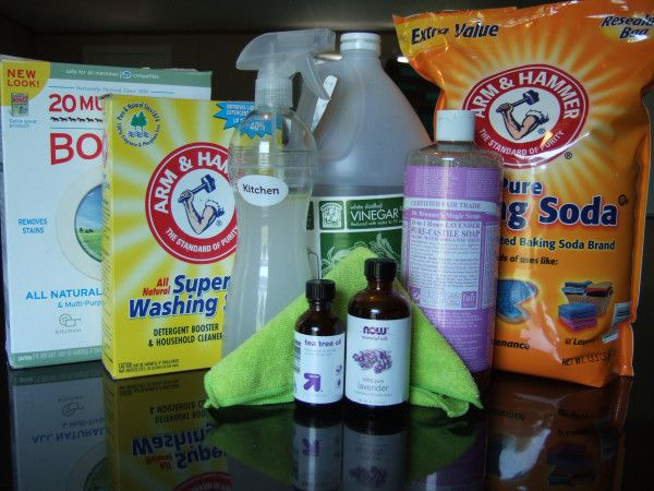 Great Starter List For A Clean Green Home Cleaning Green