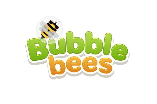Bubble Bees Logo Design