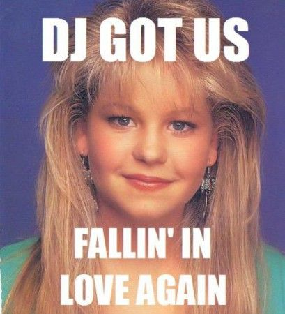 """Everything I need to know, I learned from DJ Tanner."" This is for you Jen Heilbrun!"