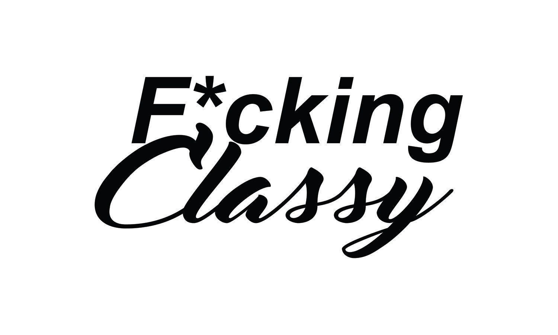"""6"""" F*cking Classy jdm sticker subaru wrx sti evo drift by"""