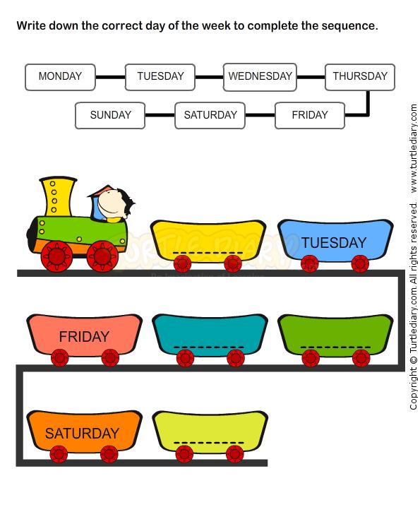 Weekdays Worksheet 9 Math Worksheets Kindergarten Worksheets Educational Worksheets Worksheets For Kids Kindergarten Worksheets