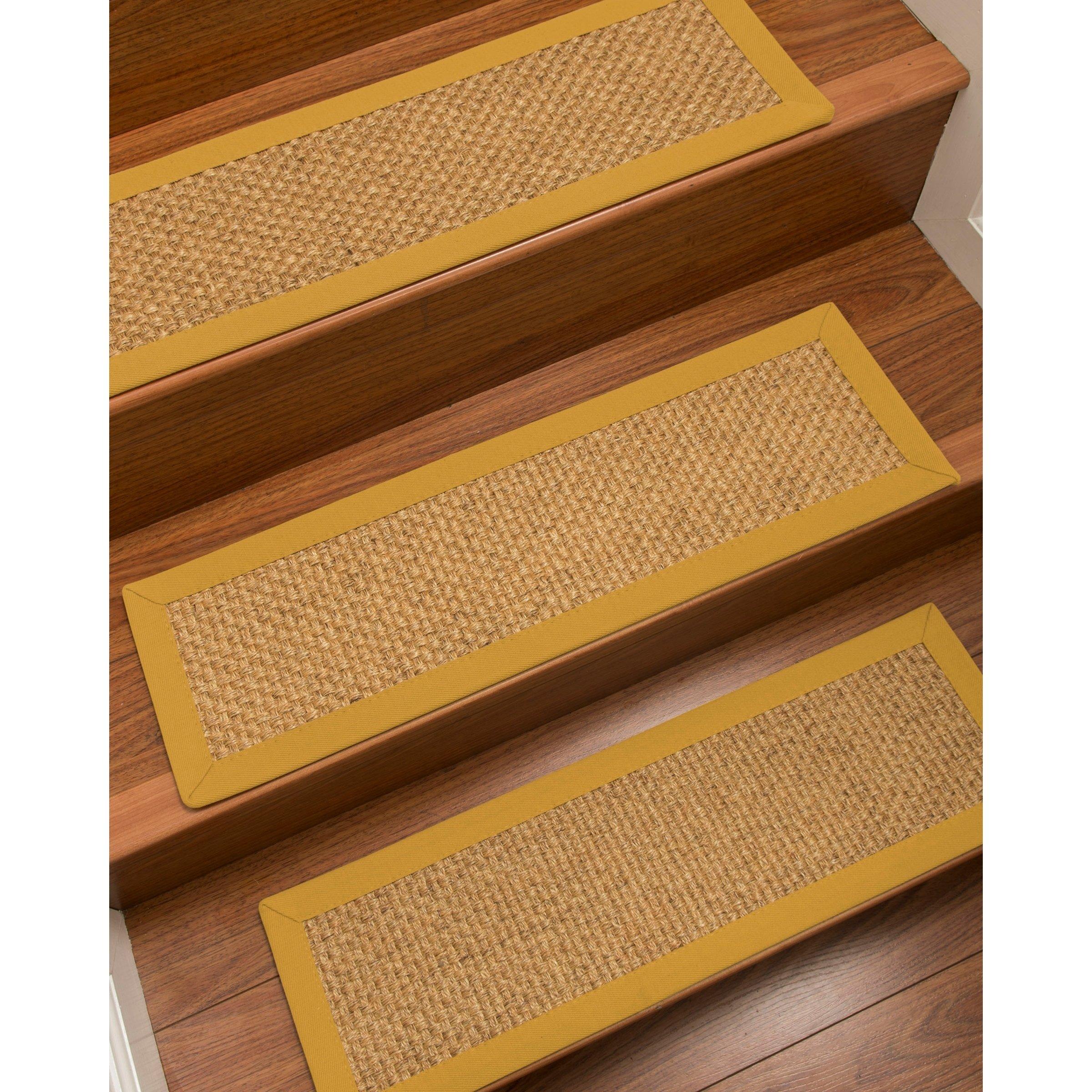 Best Naturalarearugs Big Sur Carpet Stair Treads Set Of 13 640 x 480
