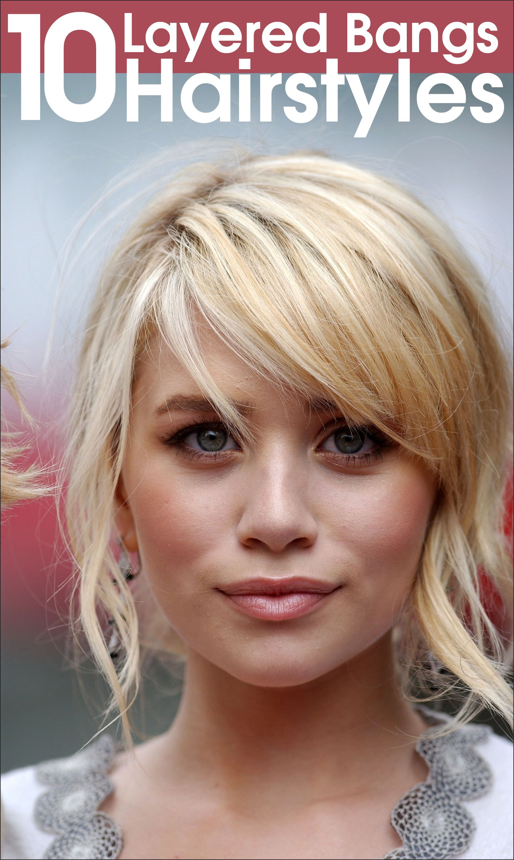 50 layered hairstyles with bangs hair hairstyles with bangs