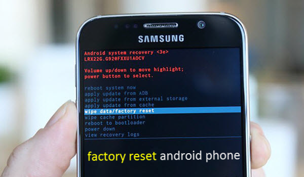 Factory Reset Android Android, Android phone, Reset
