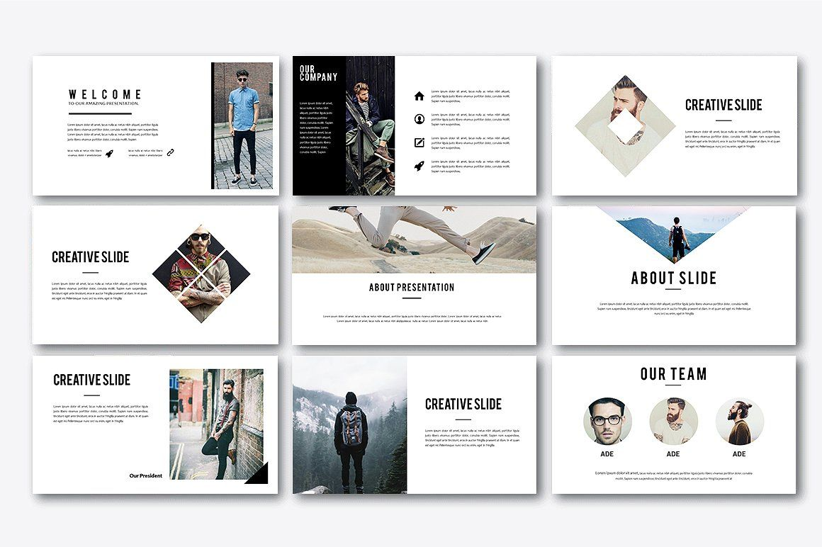 Uxmite Creative Powerpoint by Infinity_Vector on
