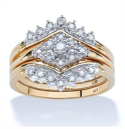 cool 3 Piece Wedding Ring Sets for Your Best Women Check more at