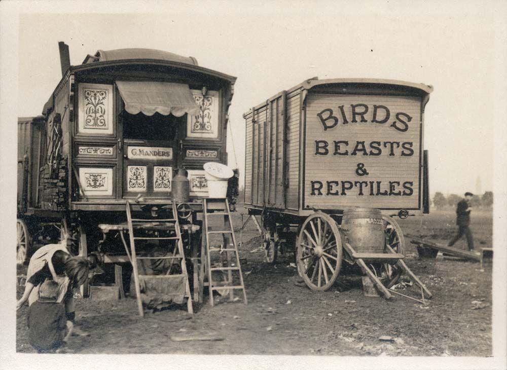 1940s Circus Caravan