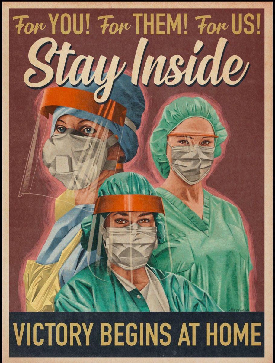 Pin By Emily Mcgowan On The Dresden Protocol In 2020 Propaganda Art Nurse Art Poster
