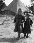 GREECE. Ioannina. 1948. Refugees from the civil war areas. David Seymour #ioannina-grecce GREECE. Ioannina. 1948. Refugees from the civil war areas. David Seymour #ioannina-grecce