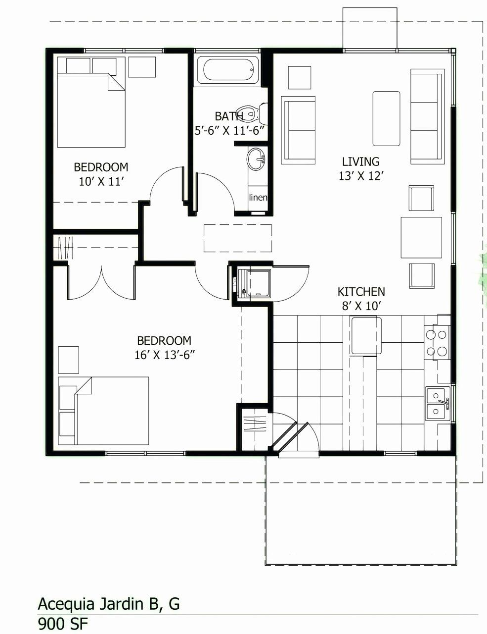 1500 Sf House Plans Awesome 4 Bedroom House For Sale In 2020 20x30 House Plans House Plans Modern House Plans