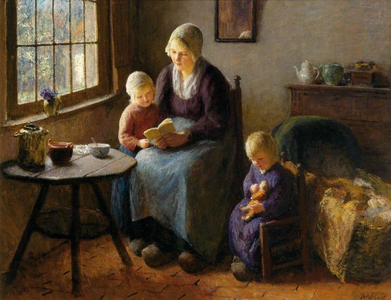 A la Pediatría desde el Arte. Lección de lectura. Bernard Pothast ...