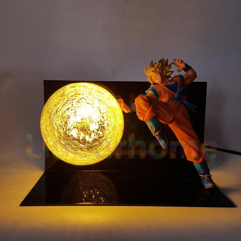 Dragon Ball Z Goku S Ki Blast Lamp Goku Super Goku Super Saiyan Dragon Ball