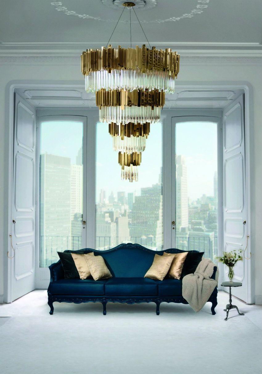Inspirationen Und Dekoideen Für Moderne Wohnzimmer Design | Kronleuchter  Von Luxxu. Wohnzimmer Ideen Für Haus Dekoration ...