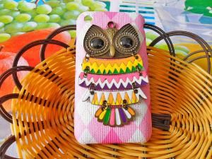iphone Hard Case Cover Bronze Cute Owl For by jewelrybraceletcuff