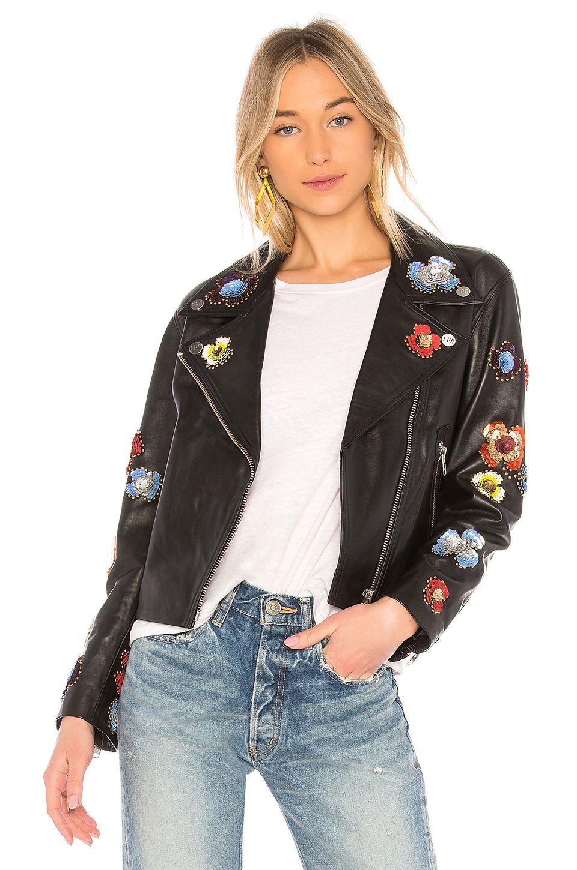LPA Leather Jacket 637 in Black Fashion, Jackets
