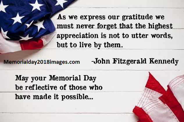 Famous Happy Memorial Day Quotes From Presidents Thankful