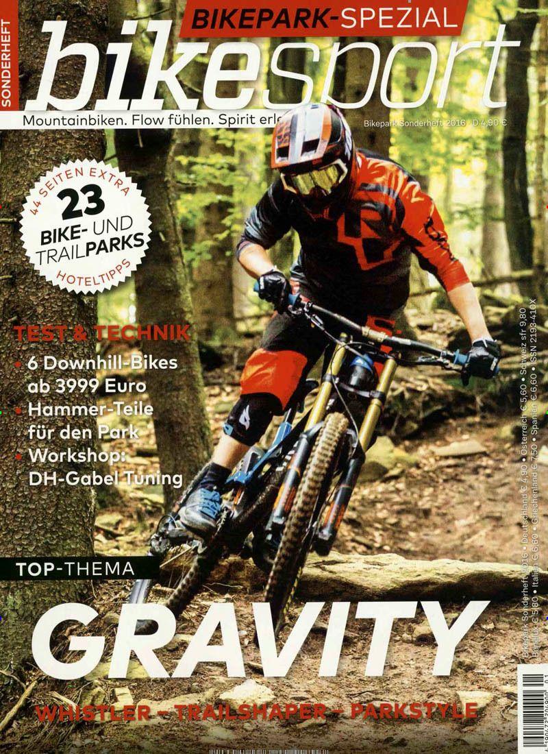Gravity. Gefunden in: bikesport Spezial - epaper, Nr. 1/2016