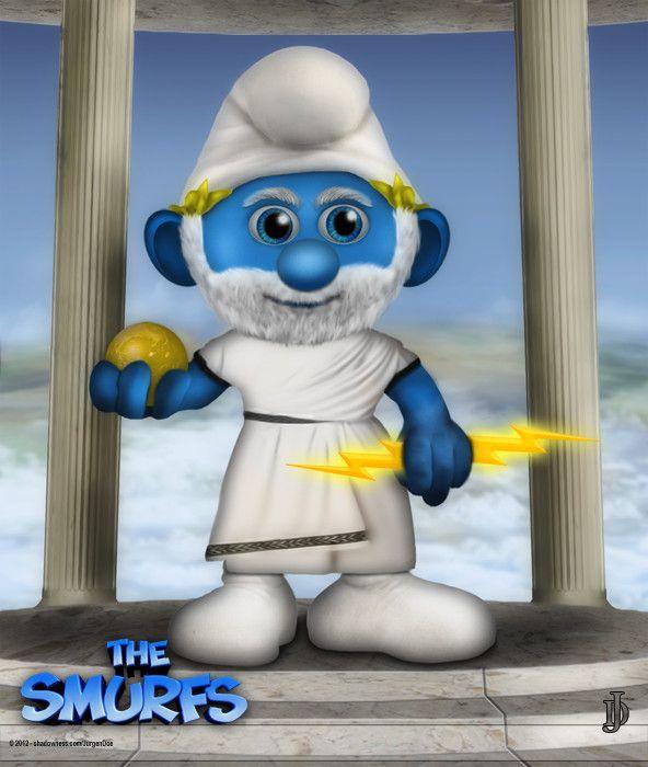 Zeus Smurf