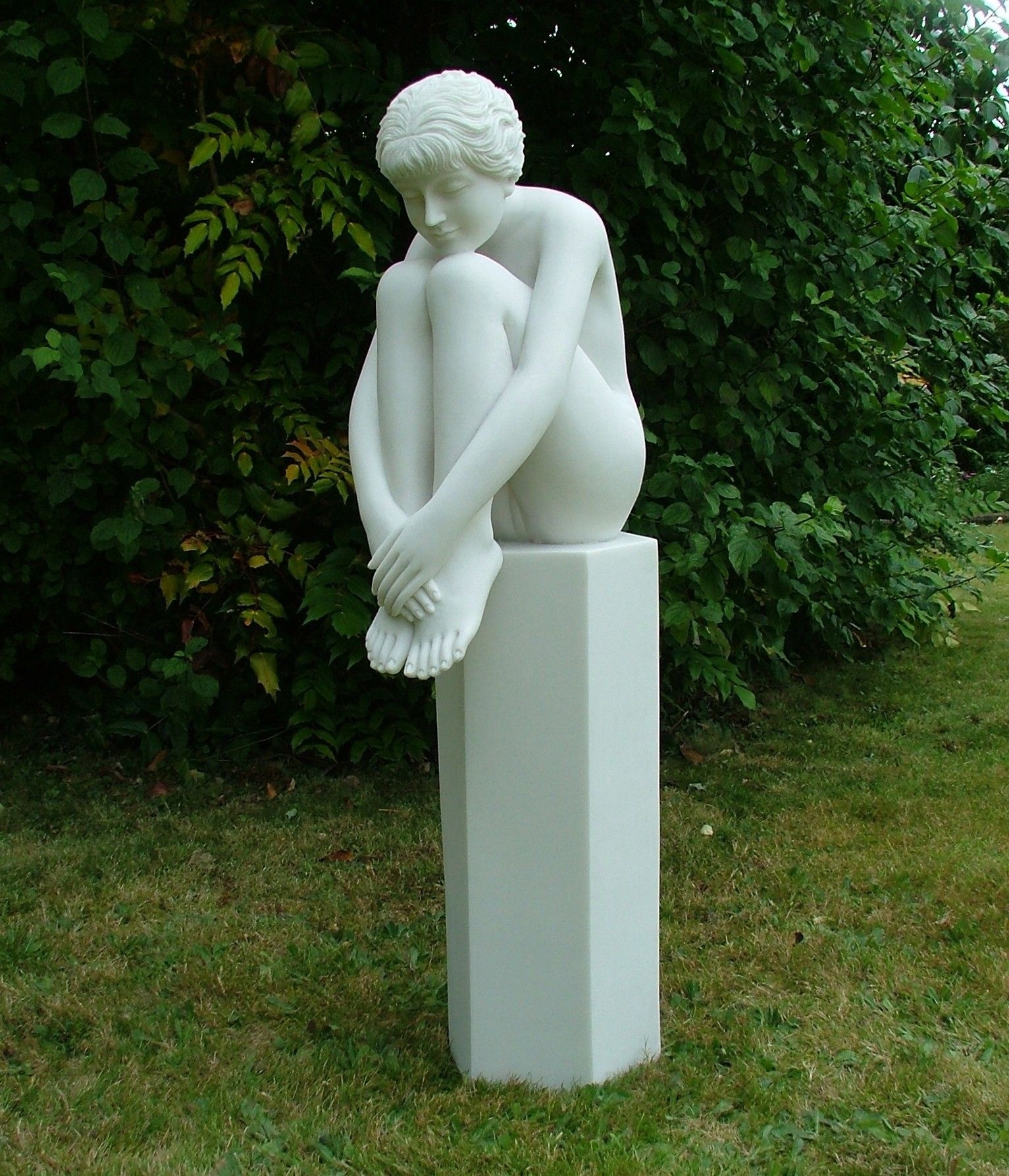 Charming Nude Melina On Column Sculpture Large Garden Statue. Buy Now At Http://