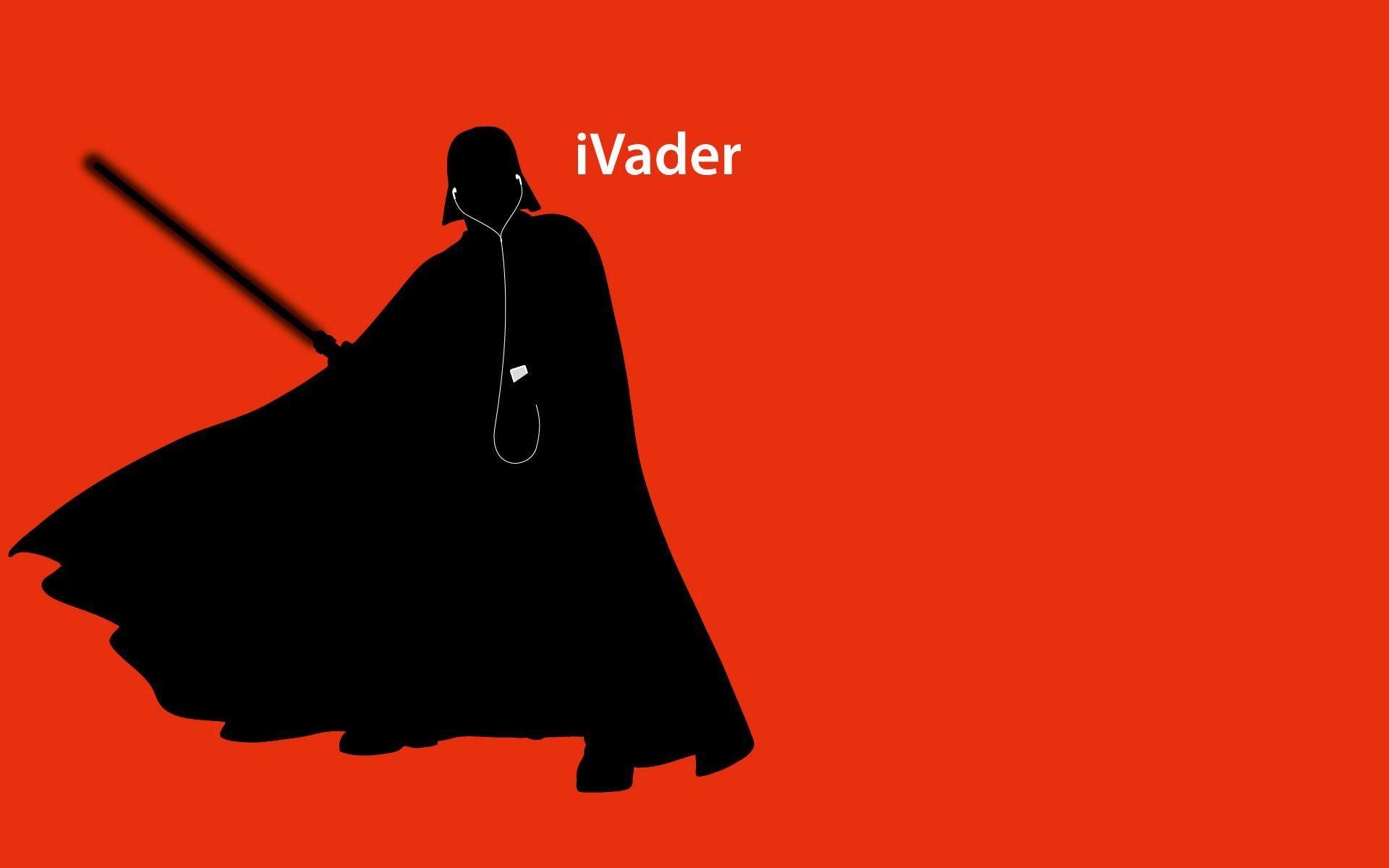 Star Wars iPod Ad Wallpaper 5 by jamesrudgeviantart on