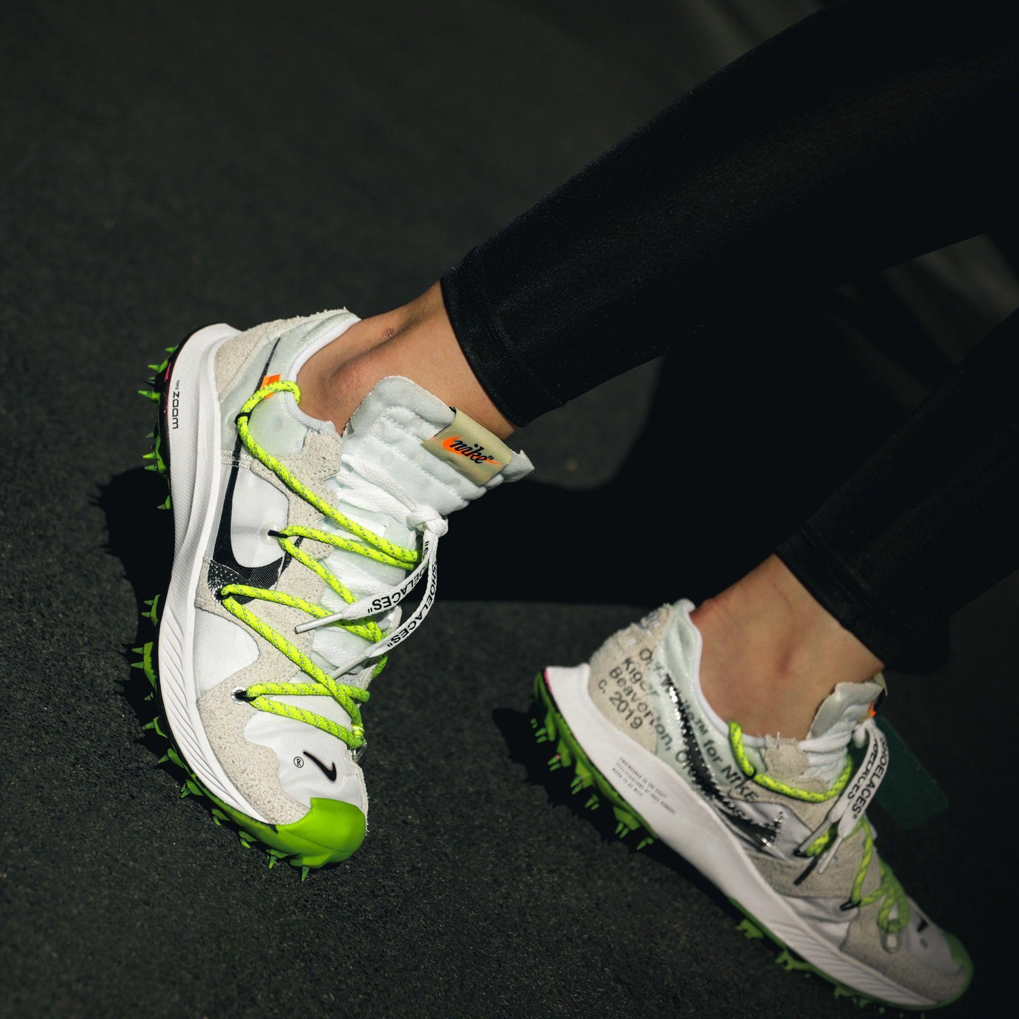 "amplia selección Donde comprar muchos de moda Nike x Off- White "" Zoom Terra Kiger 5 "" Woman | Off white shoes, Nike  fashion shoes, Nike sneakers outfit"