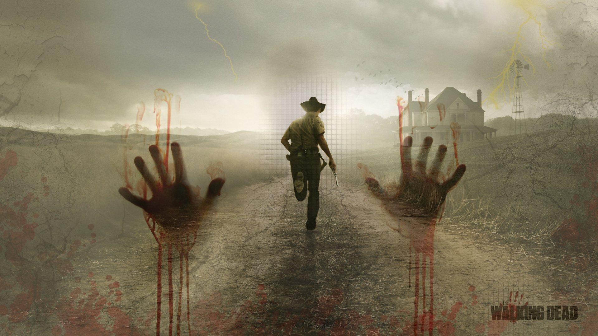The Walking Dead Wallpaper By Blooddrunkdesigns On Deviantart Walking Dead Wallpaper The Walking Dead Fear The Walking Dead
