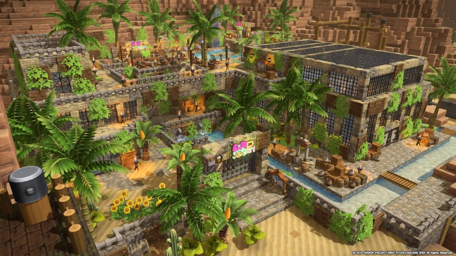 ビルダーズギャラリー ドラゴンクエストビルダーズ2 Square Enix シドー マインクラフトの建物 建築
