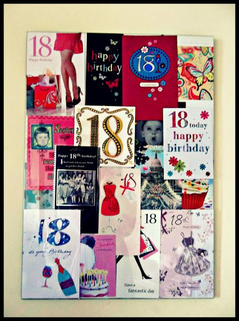 DIY Birthday Card Collage