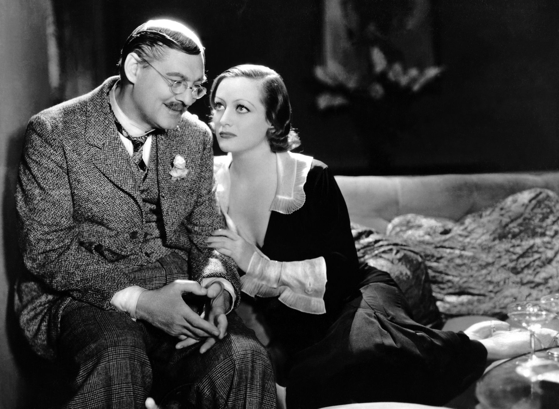 Image result for grand hotel 1932 lionel barrymore and joan crawford