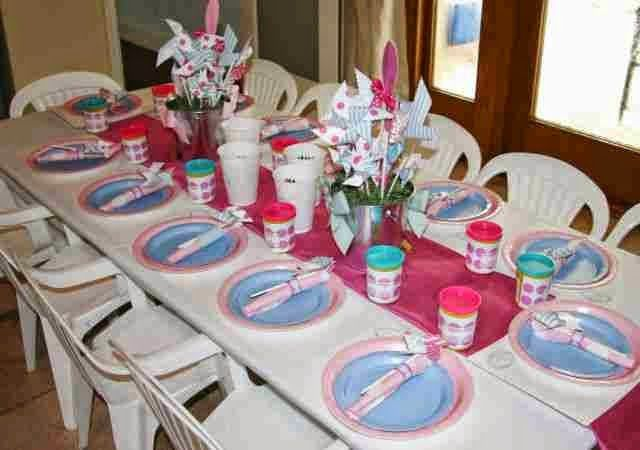 Centros de mesa infantiles ideas de decoracion cosas - Decoracion de mesas infantiles ...