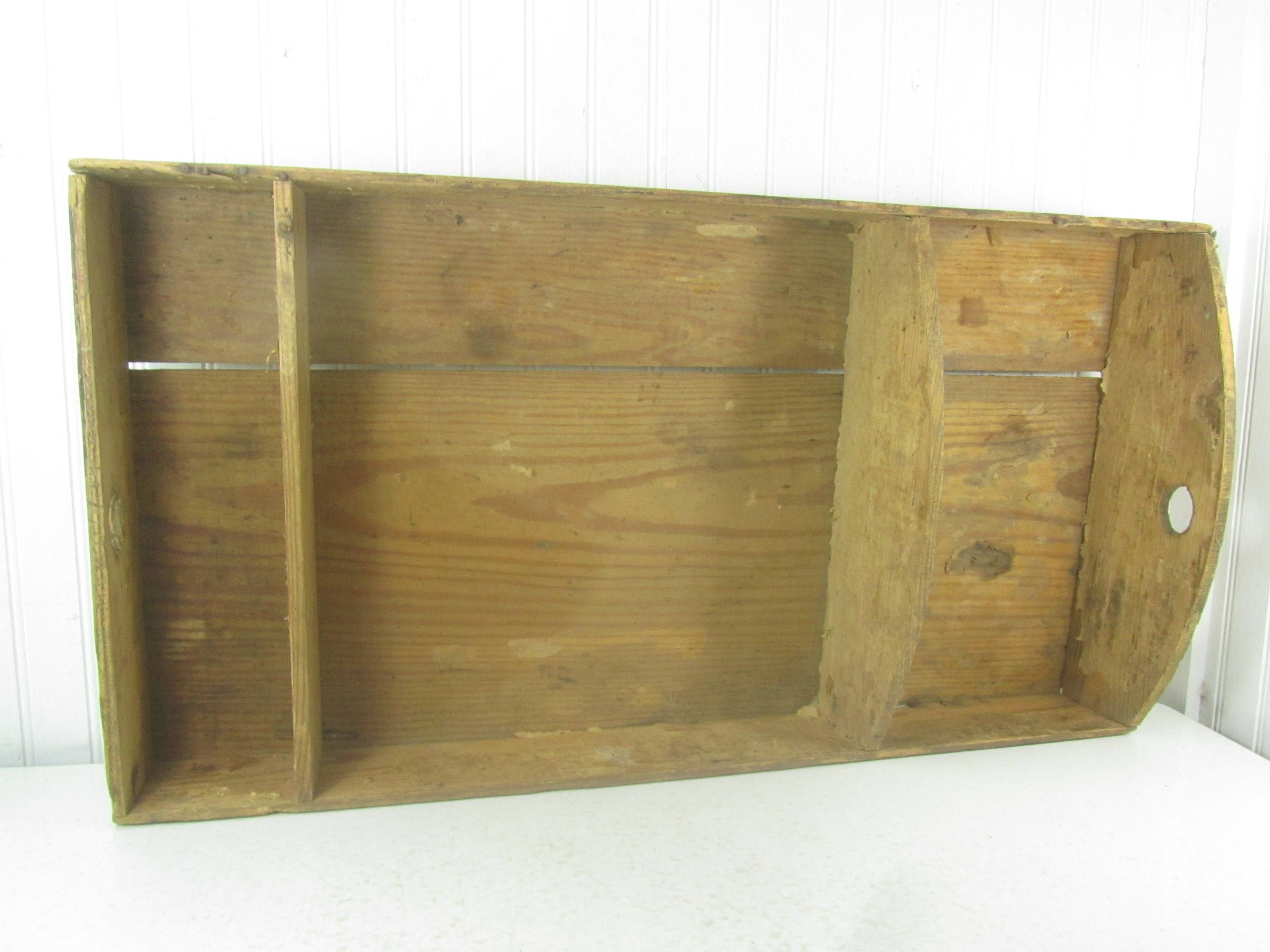 Antique Steamer Trunk Tray, Wood Tray, Farmhouse Decor By Karenschicnshabby
