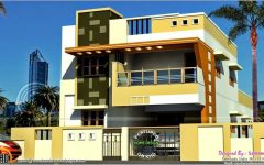 House Design Indian Style Plan And Elevation Elegant Modern South Indian House Design K In 2020 Small House Exteriors Small House Design Exterior Modern House Exterior