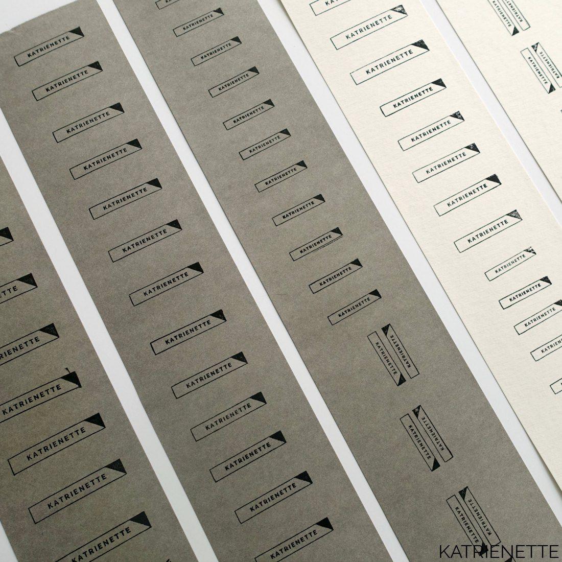 Beste Tutorial: zelf je labels maken   Kledinglabels, Labels, Naaien TL-49