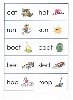 Printable Match Game for Rhyming Words. Depending on the ability ...