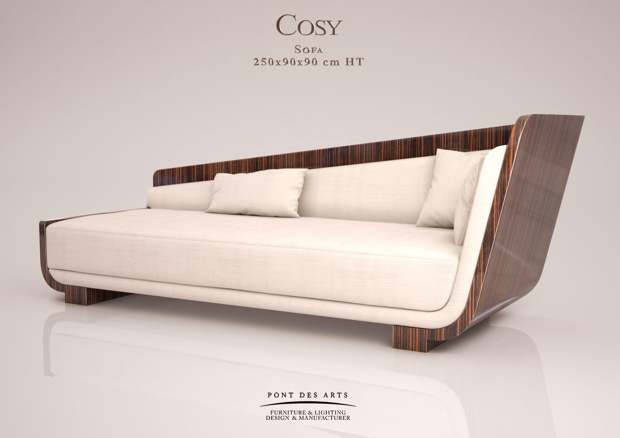 Cosy Sofa  Designer Monzer Hammoud  Pont Des Arts