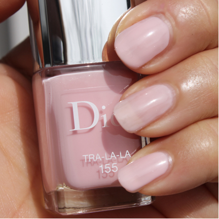 dior tra la la best wedding day nail polish color