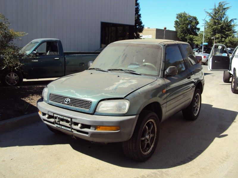 1996 Toyota Rav4 2 Door Suv 2 0l Mt Awd Color Green Z13471 Rancho Toyota Rav4 Suv Awd