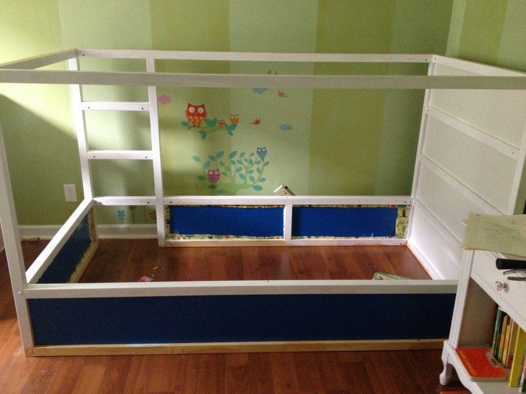 Suburbs Mama Nursery In Master Bedroom: IKEA Kura Bed Hack & Garden Bedroom Makeover